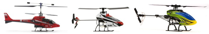 comparatif type helicoptere